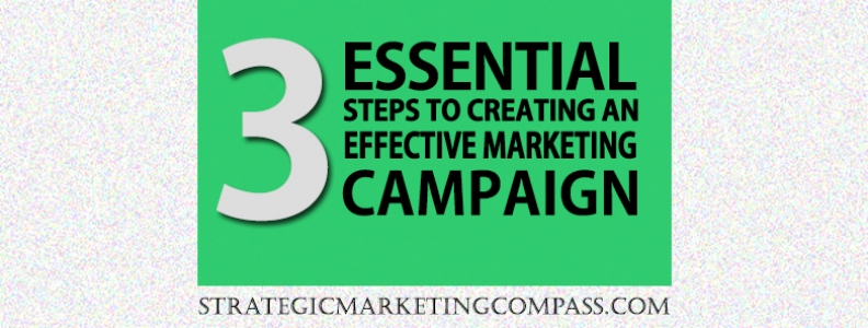 3 Essential Steps to Creating an Effective Marketing Campaign